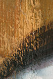 在难看的东西肮脏的金属表面摘要背景13的年迈的油漆 免版税库存图片