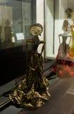 从在雅加达拍的西爪哇省照片的Wayang Golek或传统木偶印度尼西亚 库存照片