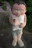 在雕塑的Comenavadrink由海 免版税图库摄影