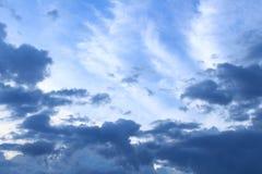 在雨前和在下午六点前 免版税库存照片