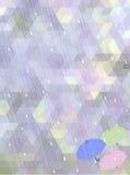 在雨季概念的抽象马赛克背景 免版税图库摄影