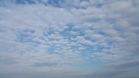 在雨风暴以后的云彩 库存照片