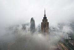在雨以后在广州 免版税库存图片