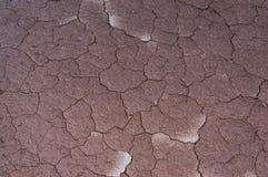 在雨以后的干旱的geo 图库摄影
