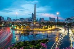在雨以后的曼谷 免版税库存图片