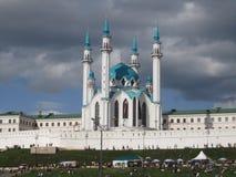 在雨以后的Kul谢里夫 免版税库存图片