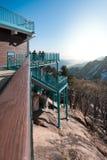 在雪岳山国立公园的Viewpiont 免版税图库摄影