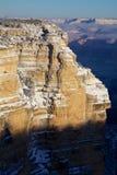 大峡谷冬天 库存图片