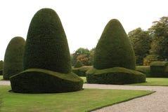 在雷克瑟姆,威尔士,英国,欧洲Chirk城堡庭院 图库摄影