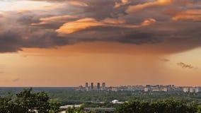 在雷暴以后的云彩 影视素材