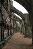 在霍利鲁德修道院的拱式扶垛 库存图片