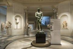 在霍夫堡宫里面的Ephesos博物馆,维也纳,奥地利 免版税库存照片