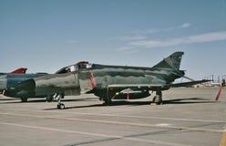 在霍洛曼AFB, NM的美国空军麦道F-4E 72-1167 CN 4488 图库摄影