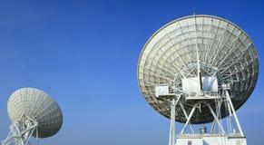 在非常大列阵的Radiotelescopes 库存图片