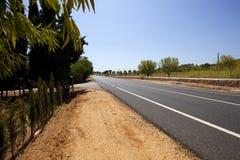 在非都市高速公路的横向间 免版税图库摄影