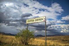 在非洲山脉的暴风云 免版税库存照片
