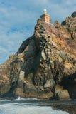 在非洲的南部的一角的灯塔 库存照片