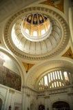 在革命博物馆里面的圆顶 免版税库存照片