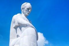 在革命正方形的何塞马蒂纪念碑在哈瓦那 免版税库存图片