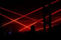 在音乐会的大气 库存照片