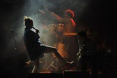 在音乐会的Bebe 免版税图库摄影