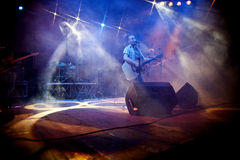 在音乐会的Foja 图库摄影
