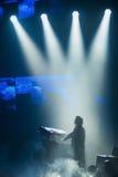 在音乐会的Trans西伯利亚乐队 库存图片