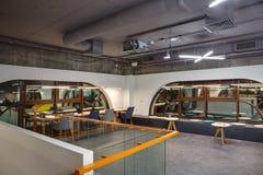 在顶楼样式的内部 免版税库存图片