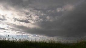 在领域的雨云 影视素材
