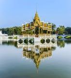 在颐和园轰隆pa的寺庙 图库摄影