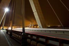 在颜色的桥梁部分 库存图片