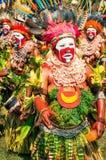 在颜色的秀丽在巴布亚新几内亚 图库摄影
