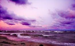 在风暴以后的早晨 库存图片
