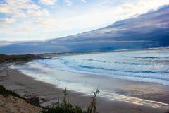 在风暴以后的Baleal海湾, Peniche,葡萄牙 免版税库存照片