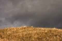 在风暴附近的秋天 库存照片