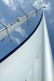 在风的风帆 免版税图库摄影