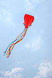 在风筝的昆明商展 免版税库存照片
