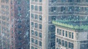 在飞雪的城市大厦 股票录像