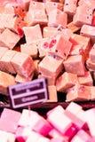 在食物市场上的纤巧 图库摄影