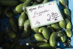 在食物市场上的菜在秋天月10月 库存照片