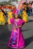 在首都在佛得角,普腊亚的每年狂欢节。 免版税库存图片