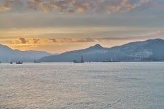 在香港东部海岛的a  免版税库存照片