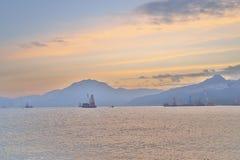 在香港东部海岛的a  免版税库存图片