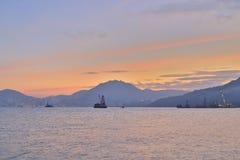 在香港东部海岛的a  库存照片