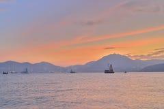 在香港东部海岛的a  库存图片