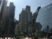 在香港市 库存图片
