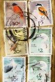 在香港打印的邮票 免版税库存照片