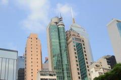 在香港旁边的公寓 库存图片