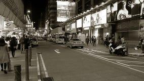 在香港街道  免版税库存图片