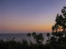 在马利布海滩的下午 免版税库存照片